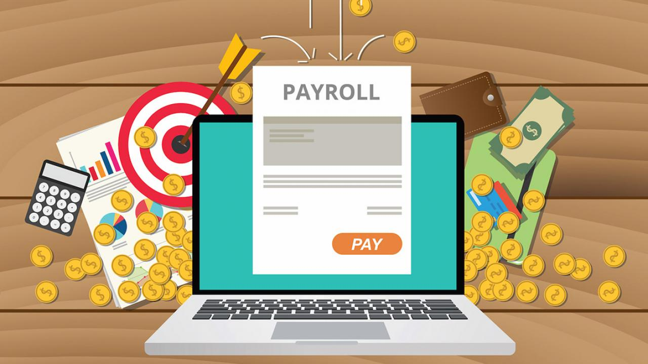 online payroll system Since online payroll systems handle most of payroll's time-consuming tasks, making the switch can help free up labor hours if hours of an employee or department's time were allotted to manage.